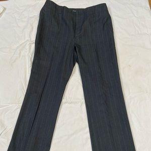 Dark Gray/Black Pinstripe pants